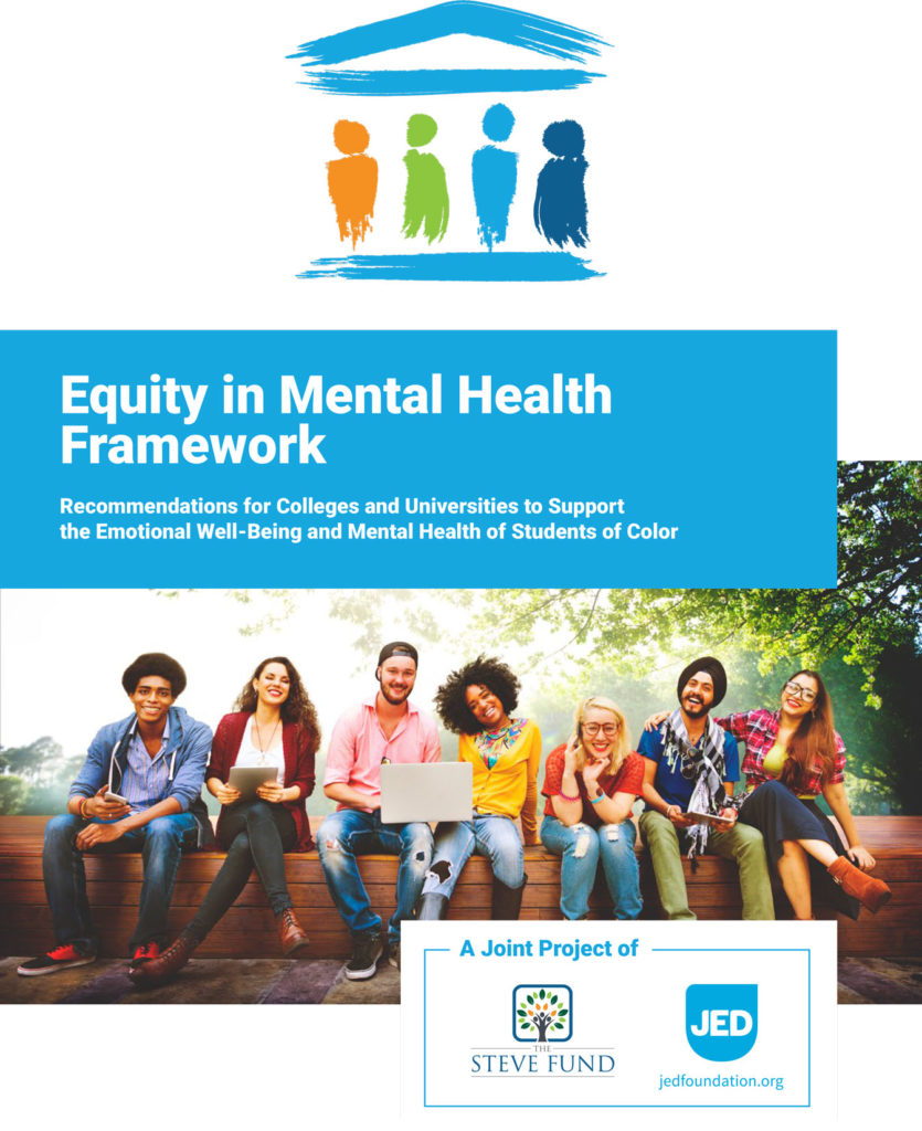Emotional Well Being Of College >> The Equity In Mental Health Framework Equity In Mental Health